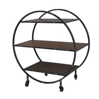 Albert Geometric Bookcase by 17 Stories SKU:CA314992 Shop