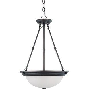 Charlton Home Tindall 3-Light LED Inverted Pendant