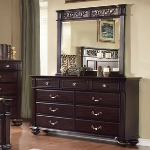 Wesleyan 9 Drawer Dresser With Mirror by Astoria Grand Best Design