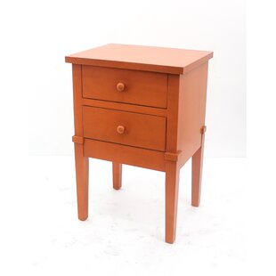 Teton Home 2 Drawer Wood Cabinet Chest