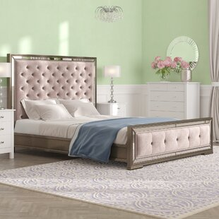 Zoe Kingsize (5') Upholstered Sleigh Bed By Willa Arlo Interiors