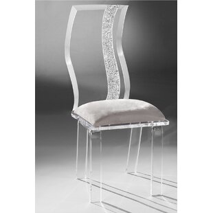 Wave Acrylic Side Chair by Muniz Find