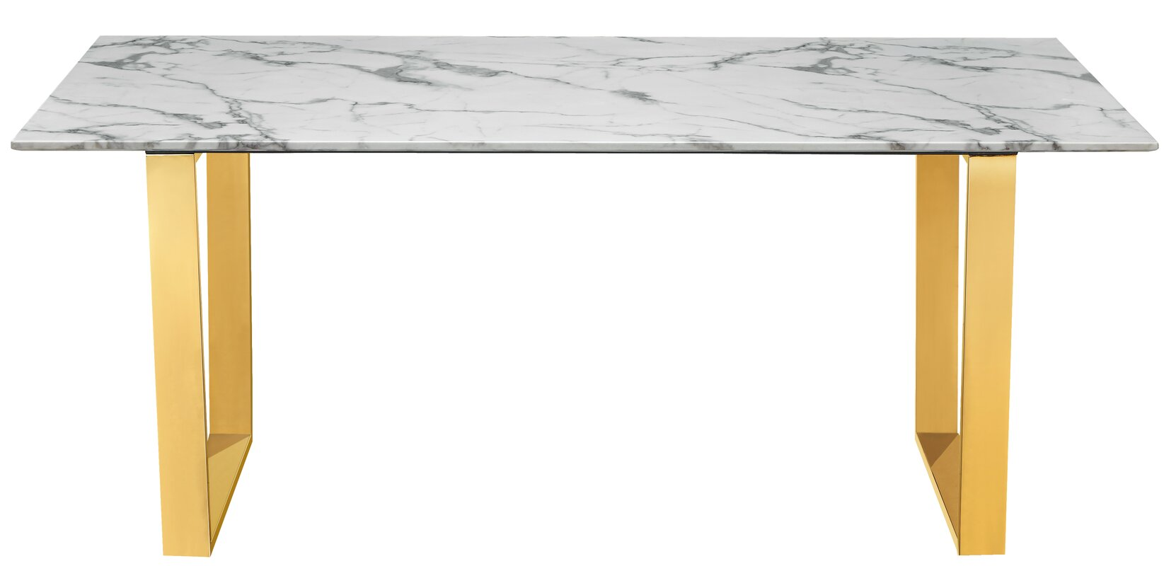 Charmant Vonnie Marble Dining Table