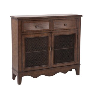 Margaux Storage 2 Door 2 Drawer Accent Cabinet