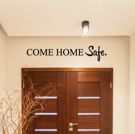 Red Barrel Studio Okparaeke Come Home Safe Wall Decal Wayfair