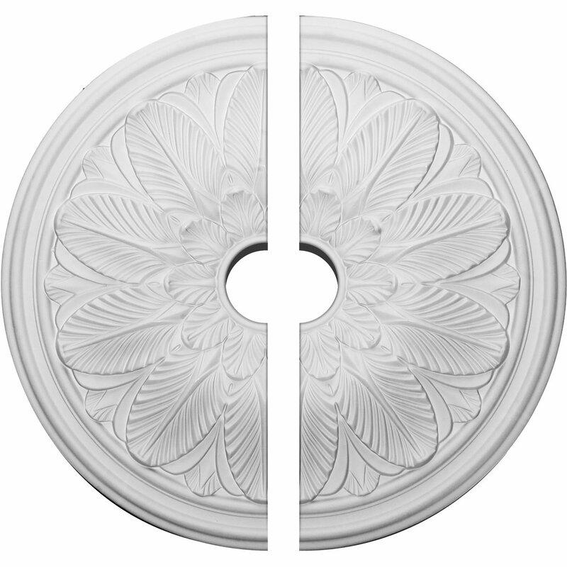 Ekena Millwork Bordeaux Ceiling Medallion Wayfair