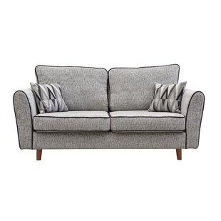 Seaberg 3 Seater Sofa By Mercury Row