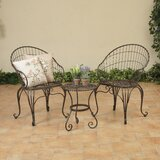 Spinosa 3 Piece Bistro Set