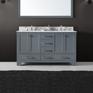 Cassel 60 Double Bathroom Vanity Set By Highland Dunes