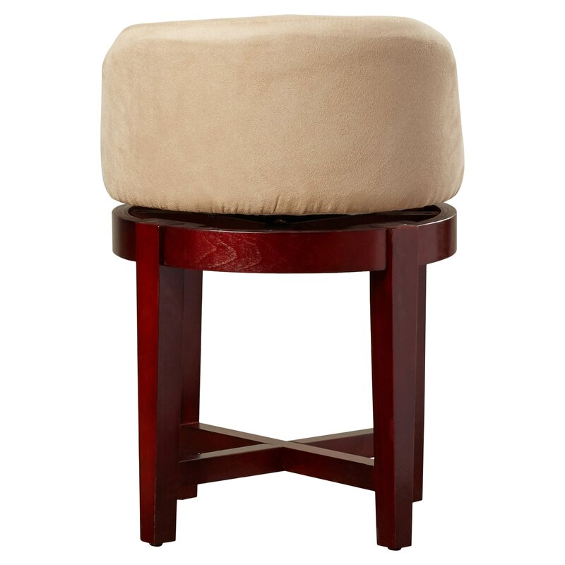 Amazing Stults Swivel Solid Wood Vanity Stool Cjindustries Chair Design For Home Cjindustriesco