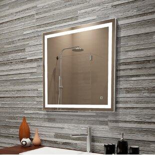 Affordable Bolyard LED Dimmable Lighted Bathroom/Vanity Mirror ByOrren Ellis