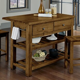 Shelton Kitchen Island Loon Peak