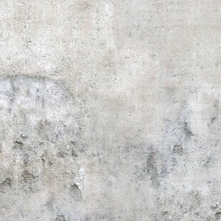 Shabby Concrete Look 1.92m x 192cm Wallpaper & Shabby Concrete Wallpaper   Wayfair.co.uk