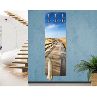Dune Path On The North Sea In Sylt Wall Mounted Coat Rack By East Urban Home