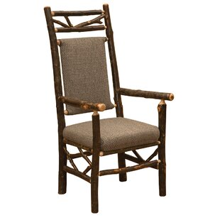 Best Hickory Twig Upholstered Arm Chair by Fireside Lodge Reviews (2019) & Buyer's Guide