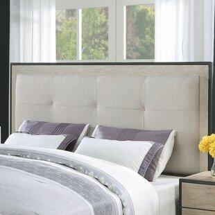 Brayden Studio Belmar Upholstered Panel Headboard