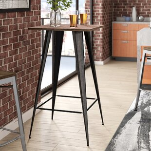 Gaetana Rectangular Counter Height Pub Table by 17 Stories