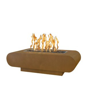 The Outdoor Plus La Jolla Steel Fire Pit