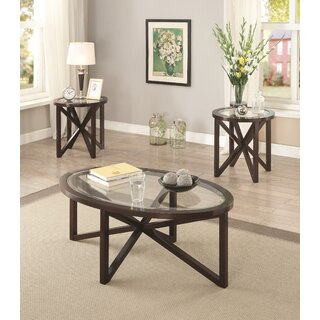 Ahumada 3 Piece Coffee Table Set by Latitude Run SKU:AB928206 Reviews