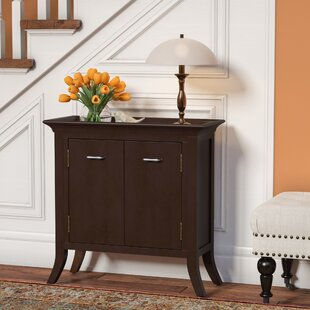Clermont Tray Edge 2 Door Accent Cabinet by Charlton Home