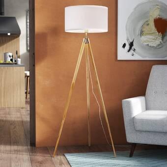 Mercer41 Cardone 60 Tripod Floor Lamp Reviews Wayfair Ca
