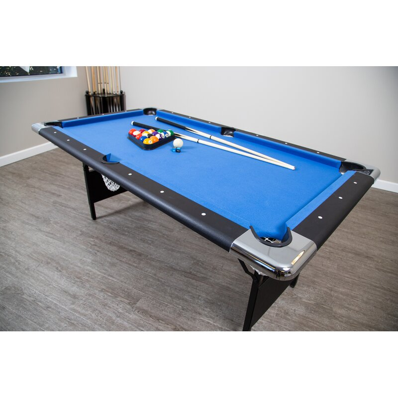 f988f90eaa Hathaway Games Fairmont Portable 6.3  Pool Table   Reviews