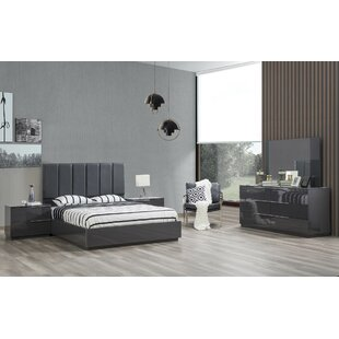 Warsaw Platform Configurable Bedroom Set