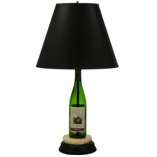 Personalized Wine Bottle 25.5 Table Lamp