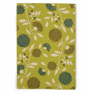 Floral Surry Rug Green Indoor/Outdoor Area Rug