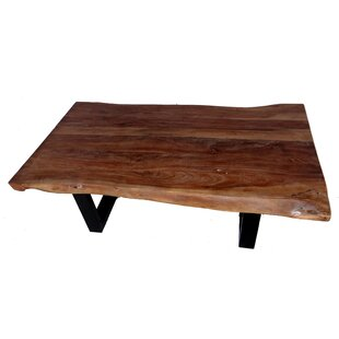 Minnesota Iron Leg Coffee Table by Millwood Pines