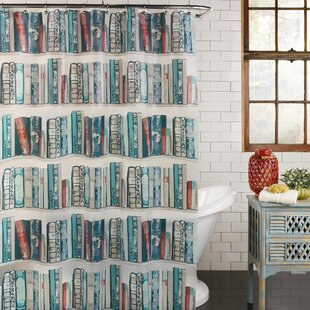 Champion Bibliophile Vinyl Shower Curtain
