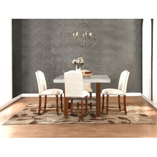 Gracie Oaks Yuqi 5 Piece Dining Set
