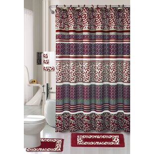 Best Reviews 18 Piece Shower Curtain Set ByDaniels Bath