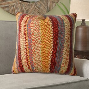 Gregg Stripe Embroidered Single Sided Pillow