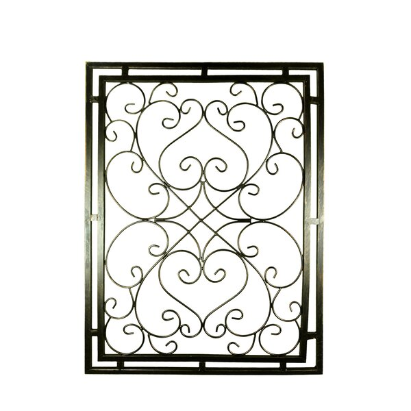 Fleur De Lis Metal Wall Decorations