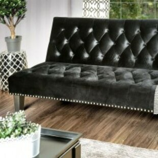 Poche Flanelette Convertible Sofa by House of Hampton
