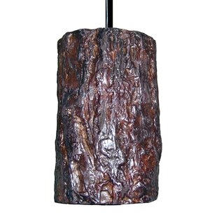 Nature 1-Light Cylinder Pendant by A19