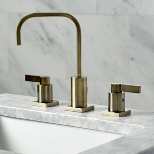 NuvoFusion Widespread Bathroom Faucet with Drain Assembly ByKingston Brass
