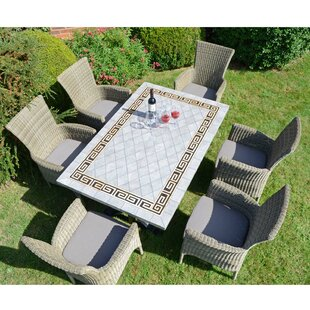 Destiney 6 Seater Dining Set With Cushions Image