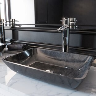 Handmade Rectangular Vessel Bathroom Sink
