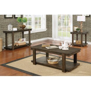 Stackhouse 3 Piece Coffee Table Set