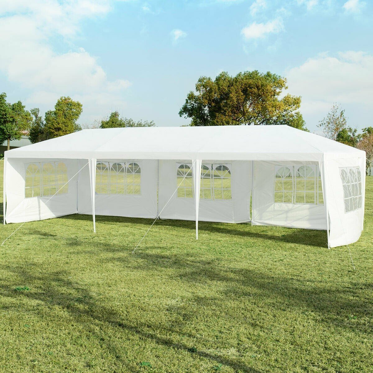 Lukio 30 Ft W X 10 Ft D Steel Party Tent Wayfair