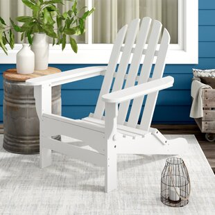 August Grove Paterson Plastic Folding Adirondack Chair