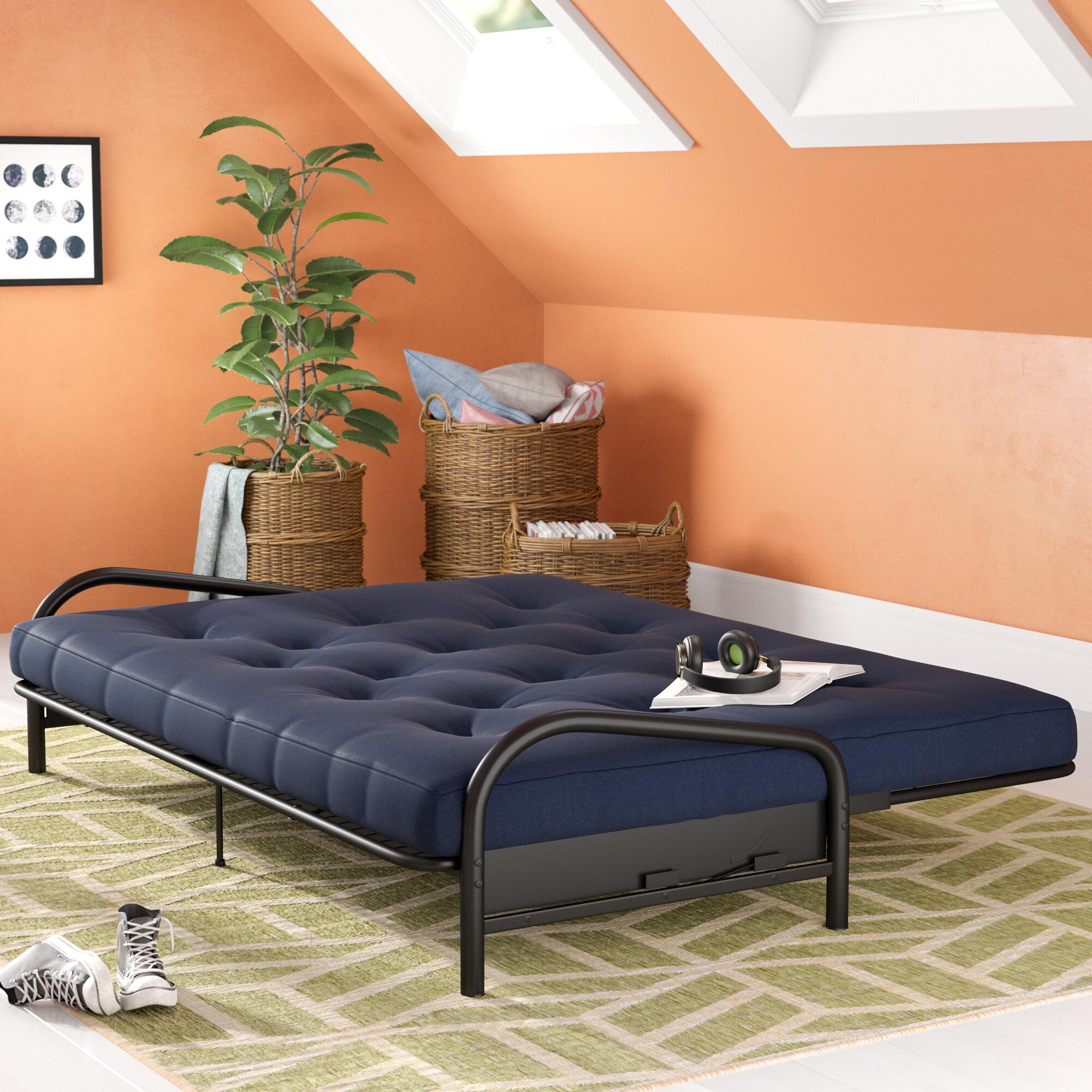 Alwyn Home Cotton Futon Mattress Reviews Wayfair