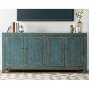 Tapscott Reclaimed Pine 4 Door Sideboard by August Grove