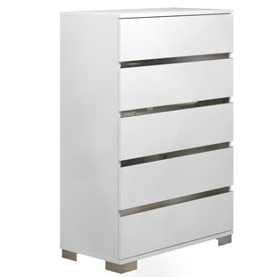 Spark 5 Drawer Chest by Casabianca Furniture Cool