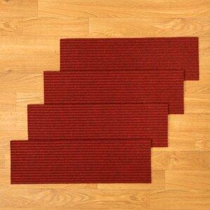 halton red stair tread set of 13