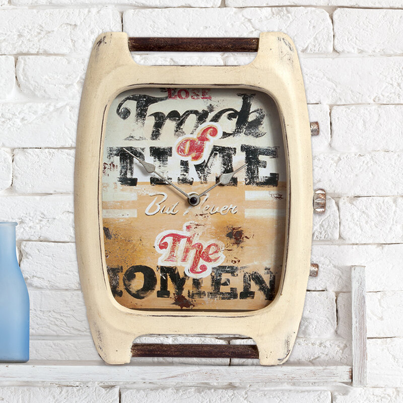 Williston Forge The Commitment To Being Present Tabletop Clock Wayfair