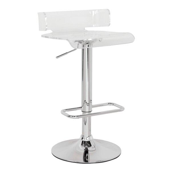 Marvelous Chevelle Adjustable Height Swivel Bar Stool Machost Co Dining Chair Design Ideas Machostcouk