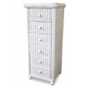6 drawer lingerie chest